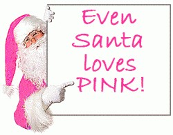 Originally pinned by Eliane Davis onto Pink Christmas